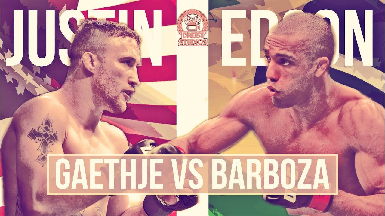 Gaethje vs Barboza Promo Trailer | LEG KICK BATTLE |