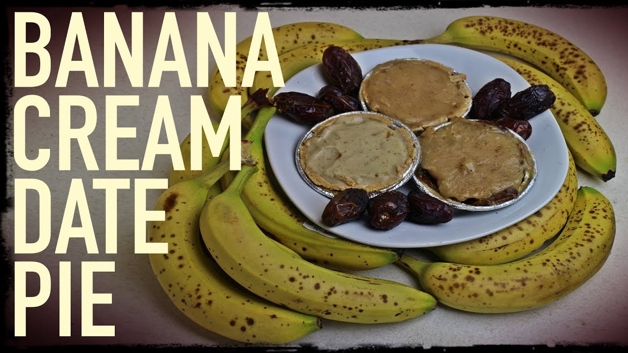 Banana cream date pie recipe raw vegan raw till 4 versions banana cream date pie recipe raw vegan raw till 4 versions youtube forumfinder Choice Image