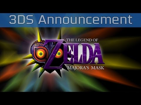 The Legend of Zelda: Majora's Mask - 3DS Announcement Trailer [HD]