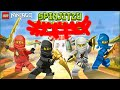 Lego Ninjago - Spinjitzu Snakedown Full Gameplay- Cartoon Network Game