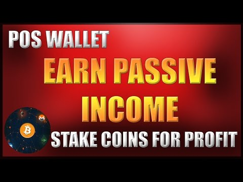 Earn Passive Crypto Income With POS Wallet!