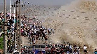 12 самых огромных волн в истории.  Мощнейшие цунами