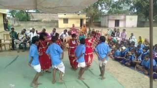 Dongri ma 're karma group dance at primary school ankdih