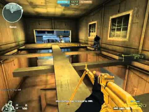 Crossfire Mansion HMX/Predator Mode I First gameplay with RPK gold