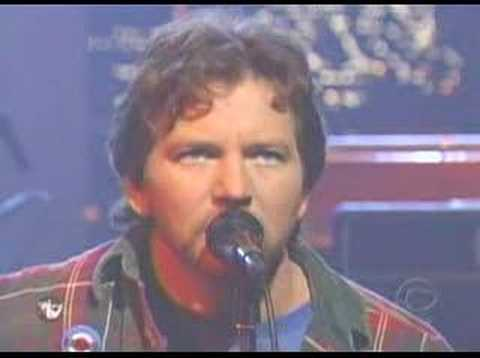 Pearl Jam On The Late Show w/ Letterman