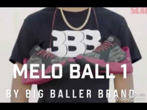 lonzo ball(ZO)FT(KENNETH paige) TRIPLE B'S (BBB)