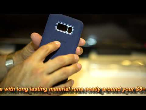 Samsung Galaxy S8+ Alcantara Cover Case Review