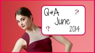 Hip Pain? College? Q&A June 2014 Part 1   Kathryn Morgan