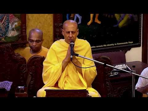 Radhastami Festival Evening Class by Radhanath Swami at ISKCON Chowpatty on 29 Aug 2017