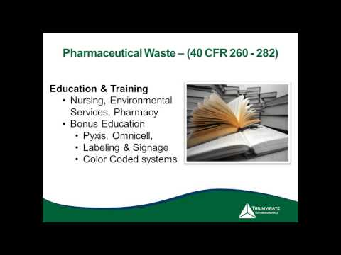 Webinar: Healthcare Waste Stream Analysis