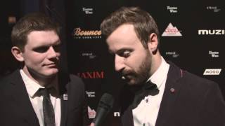 James Hinchcliffe and Conor Daly: Maxim Party Red Carpet