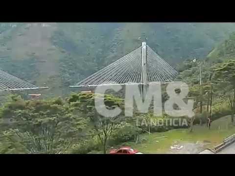 Colombia Motorway Bridge Collapse 16 January 2018