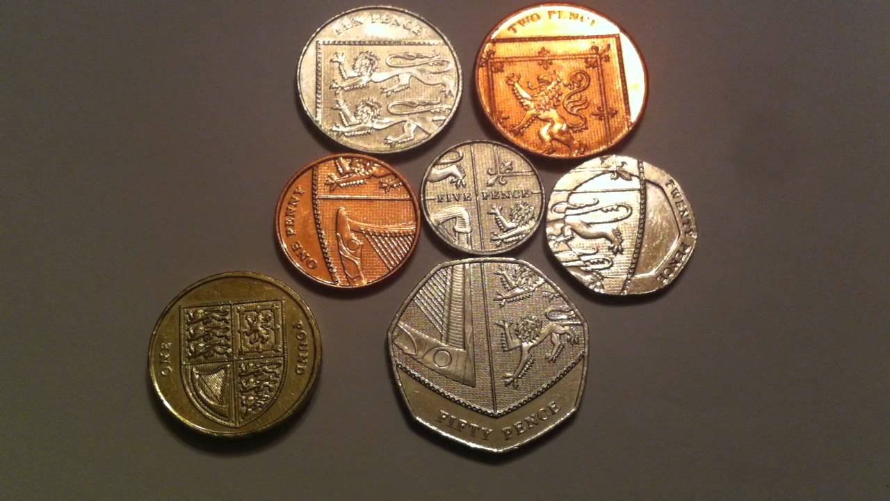 Cool British Coinage Royal Shield Of Arms Puzzle