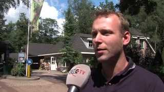 Slecht weer op de camping (EDE TV Nieuws 10-08-2015)