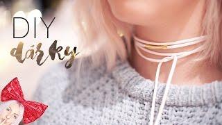 jednoduché DIY Dárky - chokery, album,..   VÁNOCE S ANY