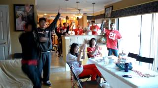 Repeat youtube video 49ers vs Seahawks NFC Championship 2014: Fans Reaction