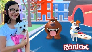 Roblox - A VIDA SECRETA DOS BICHOS (The Secret Life of Pets) | Luluca Games