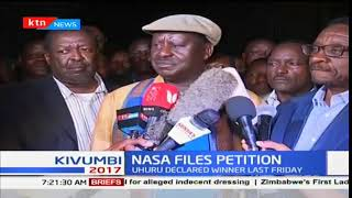 Raila Odinga not only refutes the presidential elections but also some gubernatorial elections