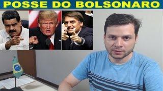 Bolsonaro não quer Maduro e outros comunistas na posse - Globalismo X Globalização