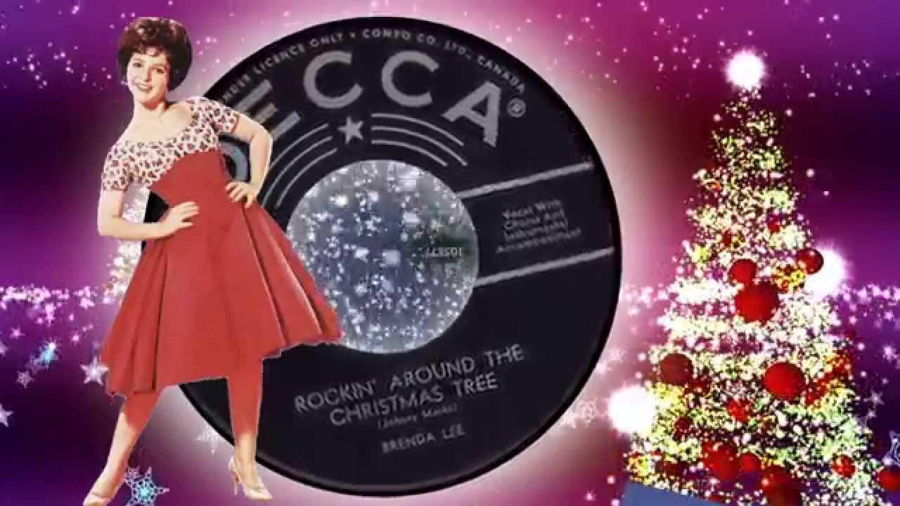 Brenda Lee - Rockin' Around The Christmas Tree. - YouTube