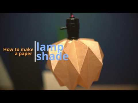 How to make a paper lampshade 3 (DIY), 기본 종이갓 만들기