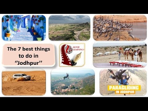 Things to do in Jodhpur | Tourist Attraction & Places to visit | Rajasthan Tourism | India Travel l