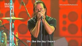 pearl jam jeremy lollapalooza subtitle english