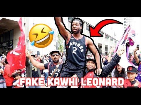 HILARIOUS Fake Kawhi Leonard Prank 🤣🤣‼️   REACTION