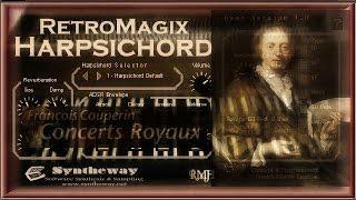 François Couperin, Gavotte (Concerts Royaux, Premier Concert) RetroMagix Harpsichord VSTi Software