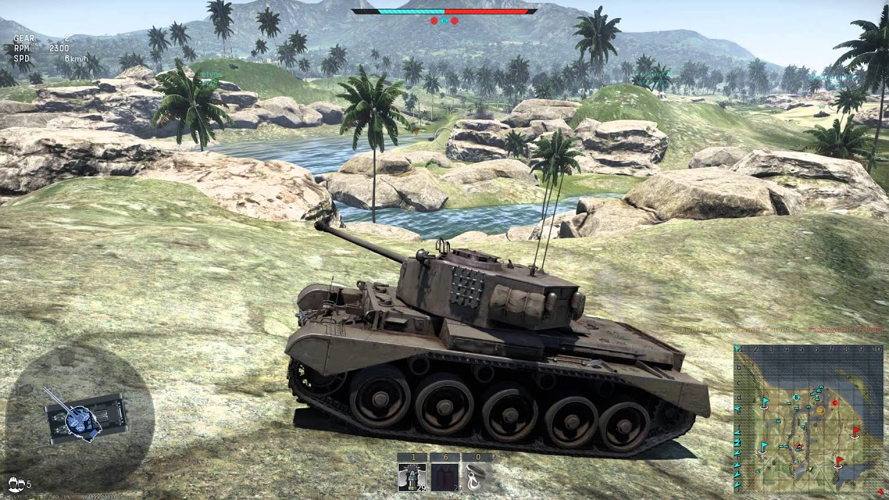 War Thunder - Comet I Medium Tank Realistic Battle Gameplay - YouTube