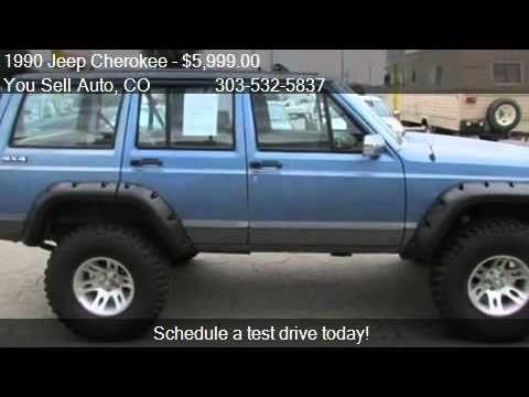 Superior 1990 Jeep Cherokee WAGON LAREDO   For Sale In Longmont, CO 8   YouTube
