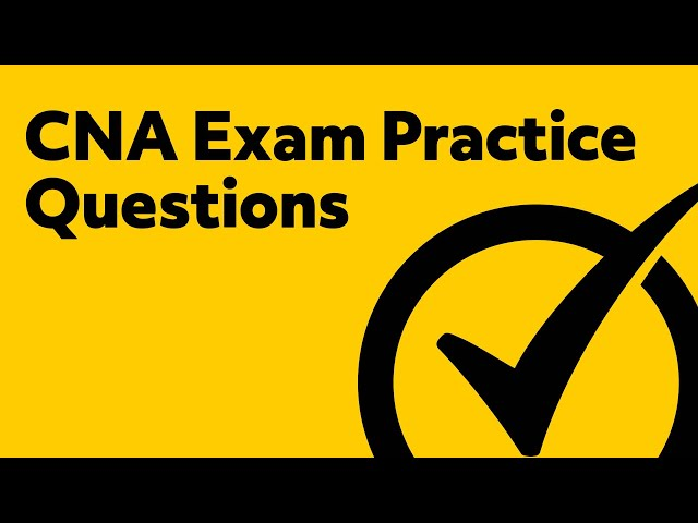 free cna exam practice test sample questions from the cna certification youtube cna sample questions