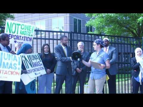 Atlanta Interfaith Protest Against ICE Raids