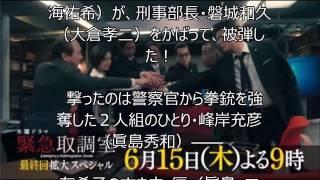 テレ朝 木曜夜9時 から放送 天海祐希演じる叩き上げの取調官・真壁有希...