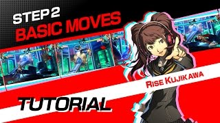 Persona 4 Arena Ultimax: Tutorial #2: Basic Moves