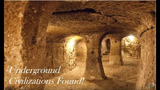 Amazing Underground Civilizations Found!