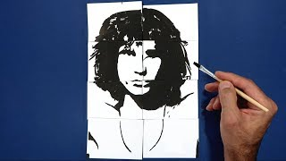 Where is Jim Morrison? Trick Art