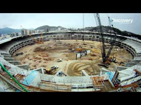 Rio's Maracana Stadium (Timelapse)   Building The World Cup