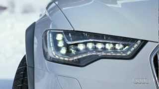 Audi A6 allroad quattro (2012) - Fahrimpressionen (Gletscherweiß)