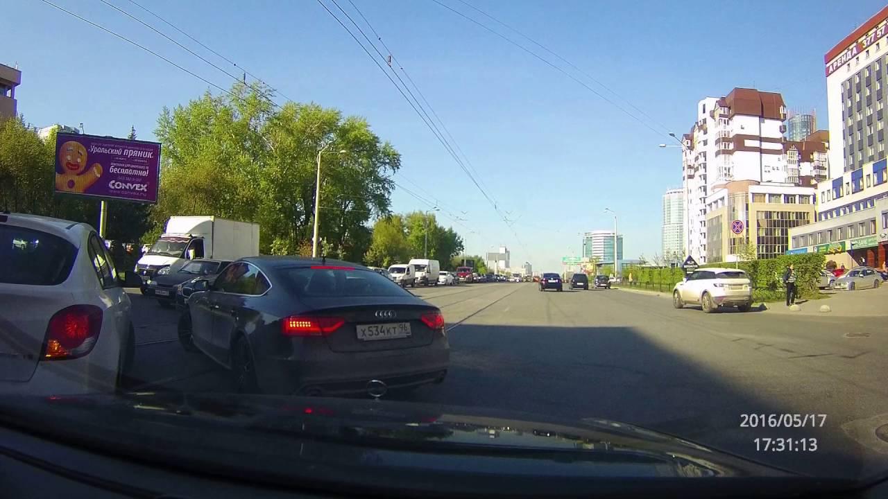 ДТП Екатеринбург пер. Северный - ул .Челюскинцев