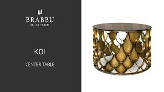Brabbu | Casegoods Koi Center Table