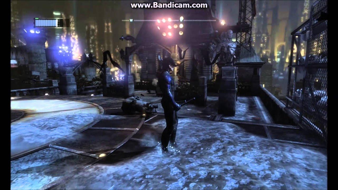 batman arkham city nightwing in free roam mod youtube
