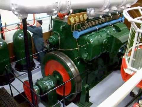 W H Allen T47   4 cylinder 2 stroke diesel