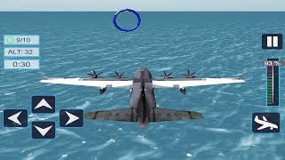 Airplane Pilot Flight Training Easy To Play Android Game