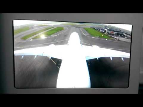 Finnair Airbus A350-900 Takeoff from Amsterdam Schiphol Airport Tail Camera View