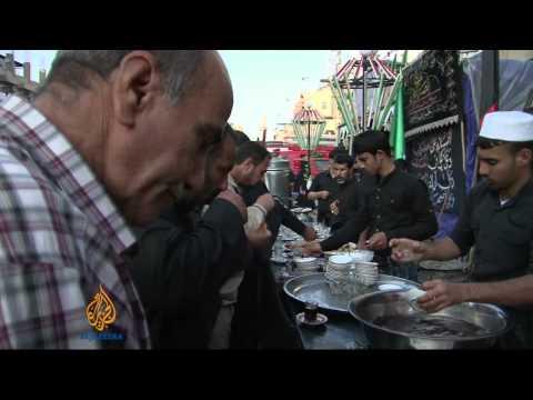 Shia Muslims commemorate Ashura in Iraq