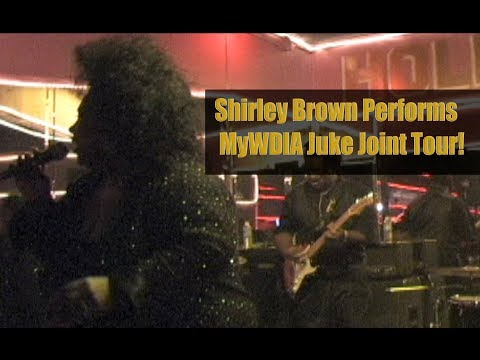 Shirley Brown Performs at MyWDIA Juke Joint Tour!