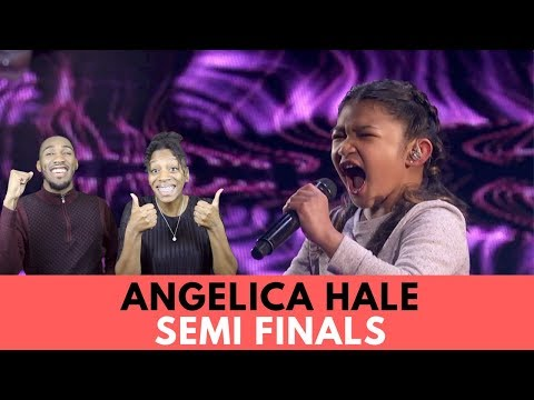 Angelica Hale: Brings The House Down With Semifinal Performance! America's Got Talent 2017 Reaction