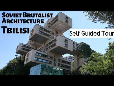 TBILISI, Georgia - independent Soviet Brutalist Architecture tour on public transport
