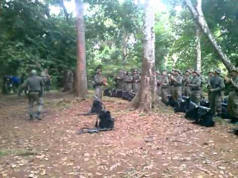 Yel Yel Latihan PELOPOR Bintara Remaja Satbrimob Polda Banten